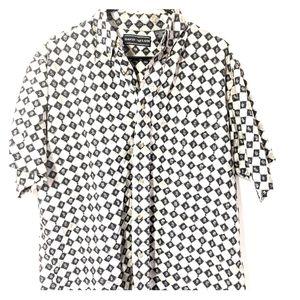David Taylor Casual Button Down Short Sleeve Shirt
